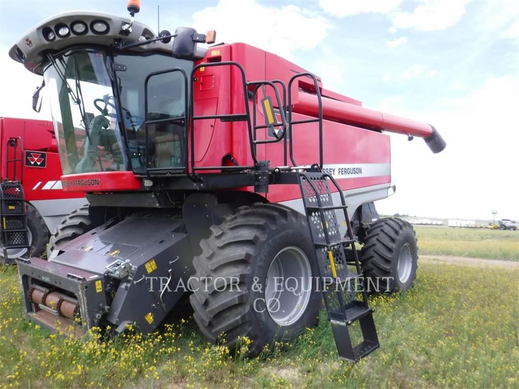 Massey Ferguson 9795, mähdrescher, Landmaschinen