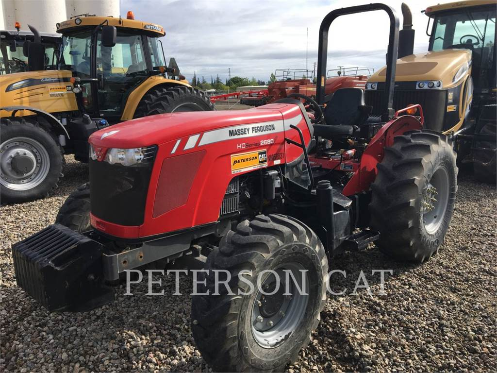 Massey Ferguson MF2680L、農業用トラクタ、農業