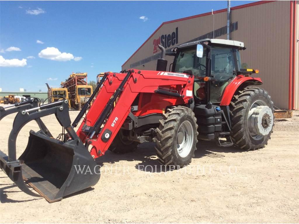 Massey Ferguson MF7620、農業用トラクタ、農業