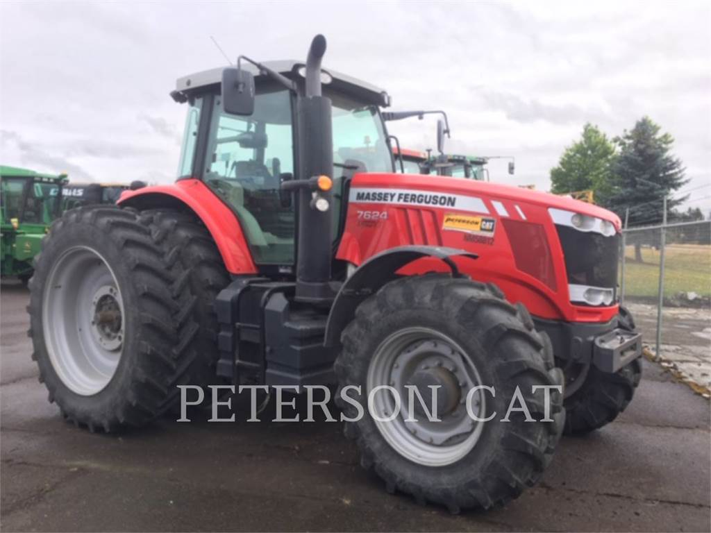Massey Ferguson MF7624, tractors, Agriculture