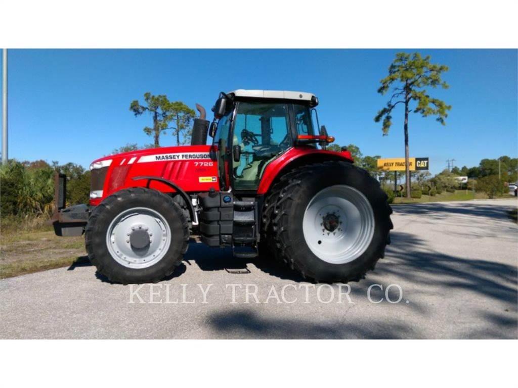 Massey Ferguson MF7726, tratores agrícolas, Agricultura