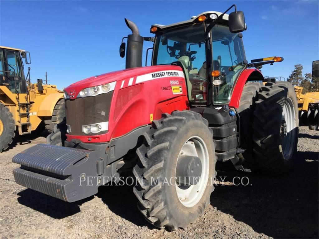 Massey Ferguson MF8660, tracteurs agricoles, Agricole