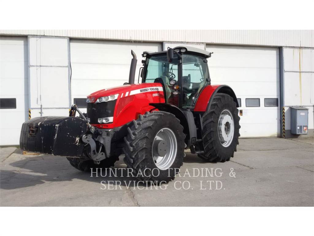 Massey Ferguson MF8680, tractors, Agriculture