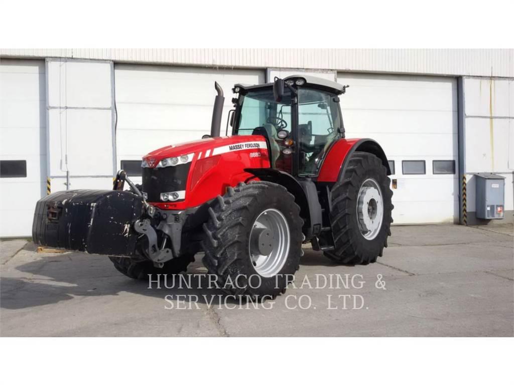 Massey Ferguson MF8680, ciągniki rolnicze, Maszyny rolnicze