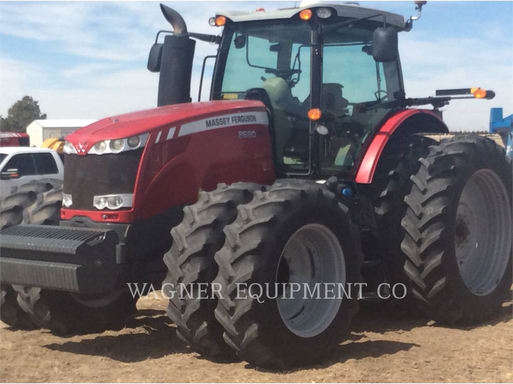 Massey Ferguson MF8690, tractors, Agriculture
