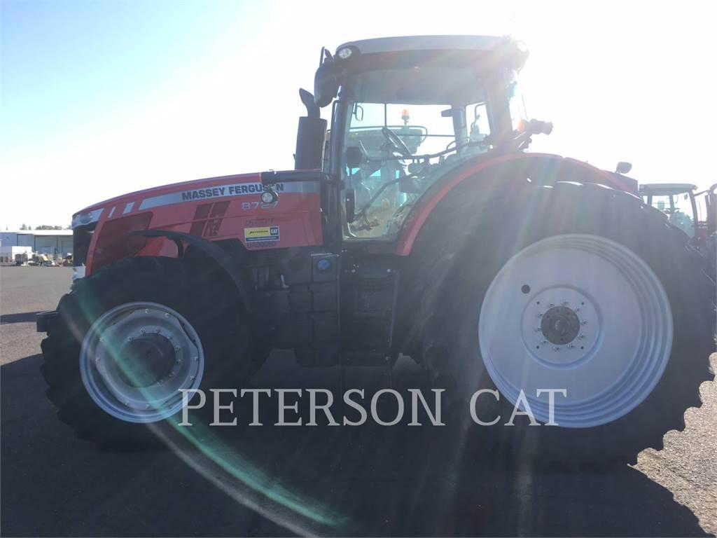 Massey Ferguson MF8727, tratores agrícolas, Agricultura
