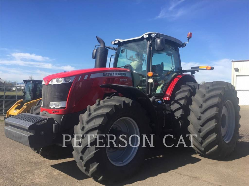 Massey Ferguson MF8737, landwirtschaftstraktoren, Landmaschinen