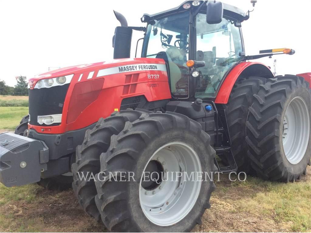 Massey Ferguson MF8737, ciągniki rolnicze, Maszyny rolnicze