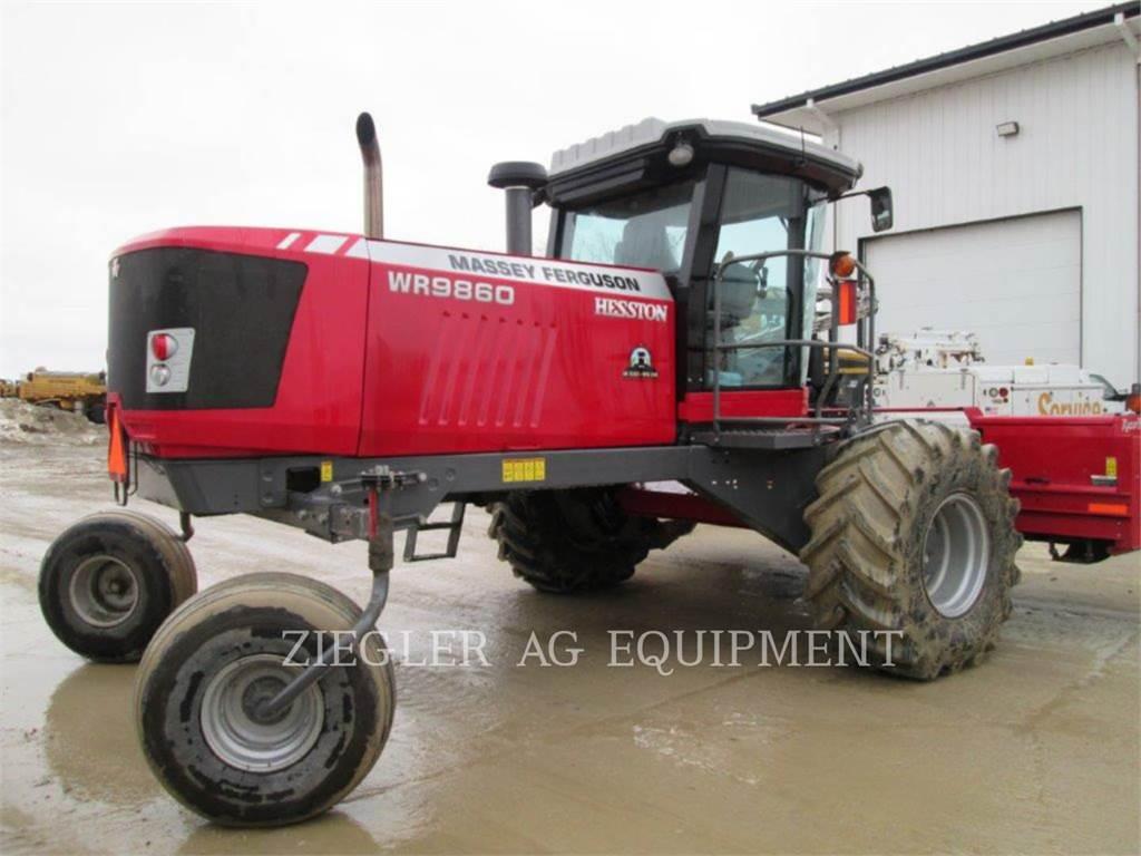 Massey Ferguson MF9860, materiels agricoles pour le foin, Agricole