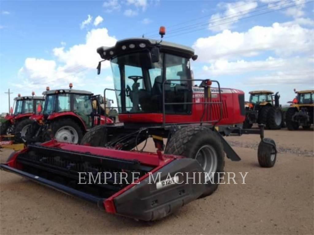 Massey Ferguson MFWR9740, lw - heugeräte, Landmaschinen