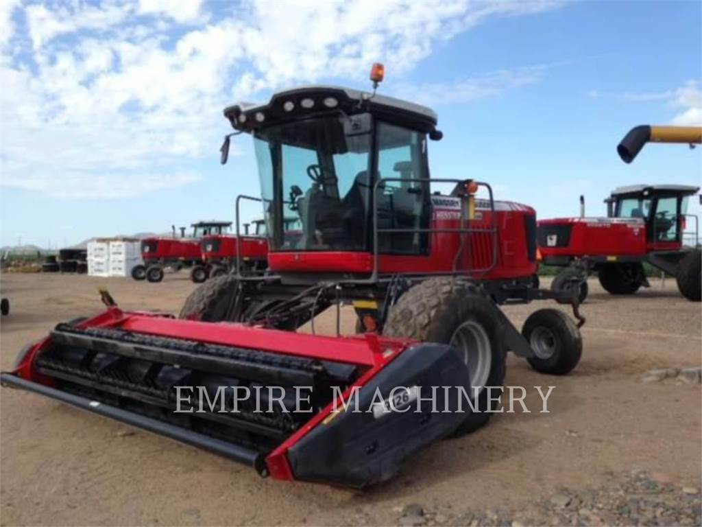 Massey Ferguson MFWR9740, hay equipment, Agriculture