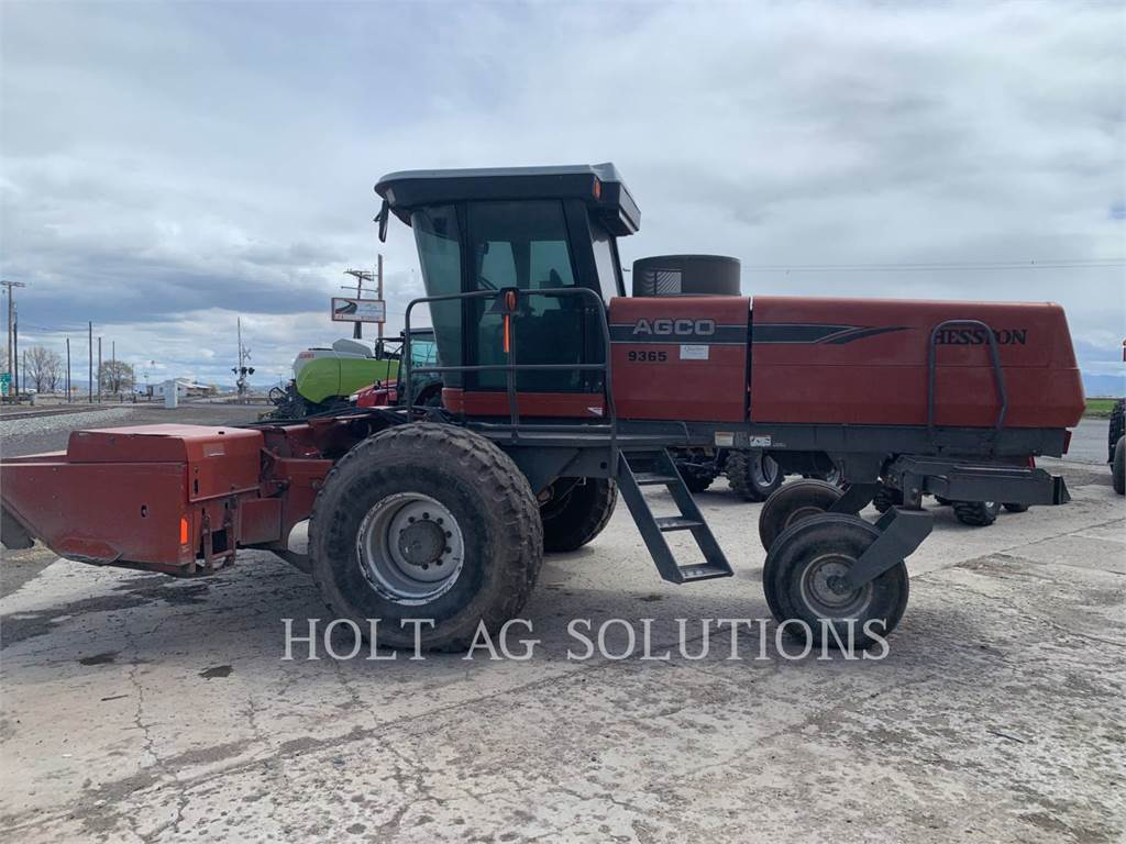 Massey Ferguson WR9365, windrowers, Agriculture