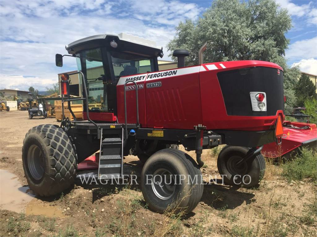 Massey Ferguson WR9770, hay equipment, Agriculture