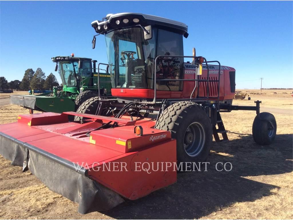 Massey Ferguson WR9870, echipamente agricole pentru cosit, Agricultură