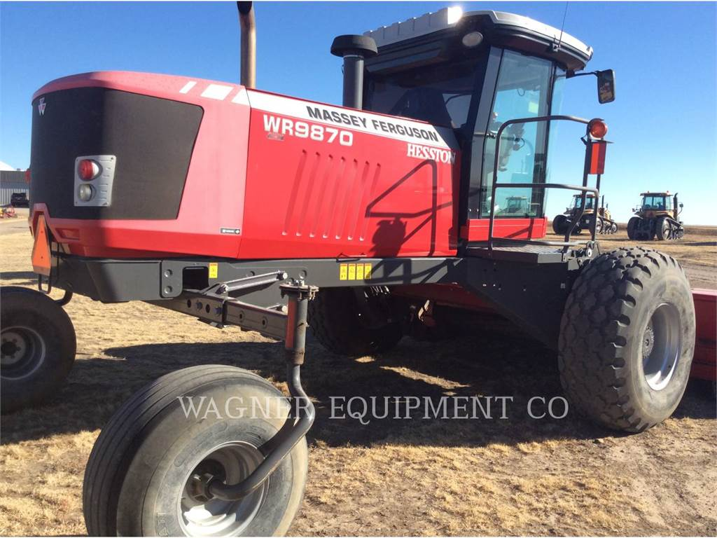 Massey Ferguson WR9870, hay equipment, Agriculture