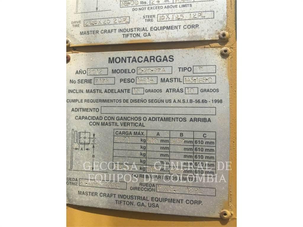 Mastercraft C20 974, Heftrucks overige, Laden en lossen