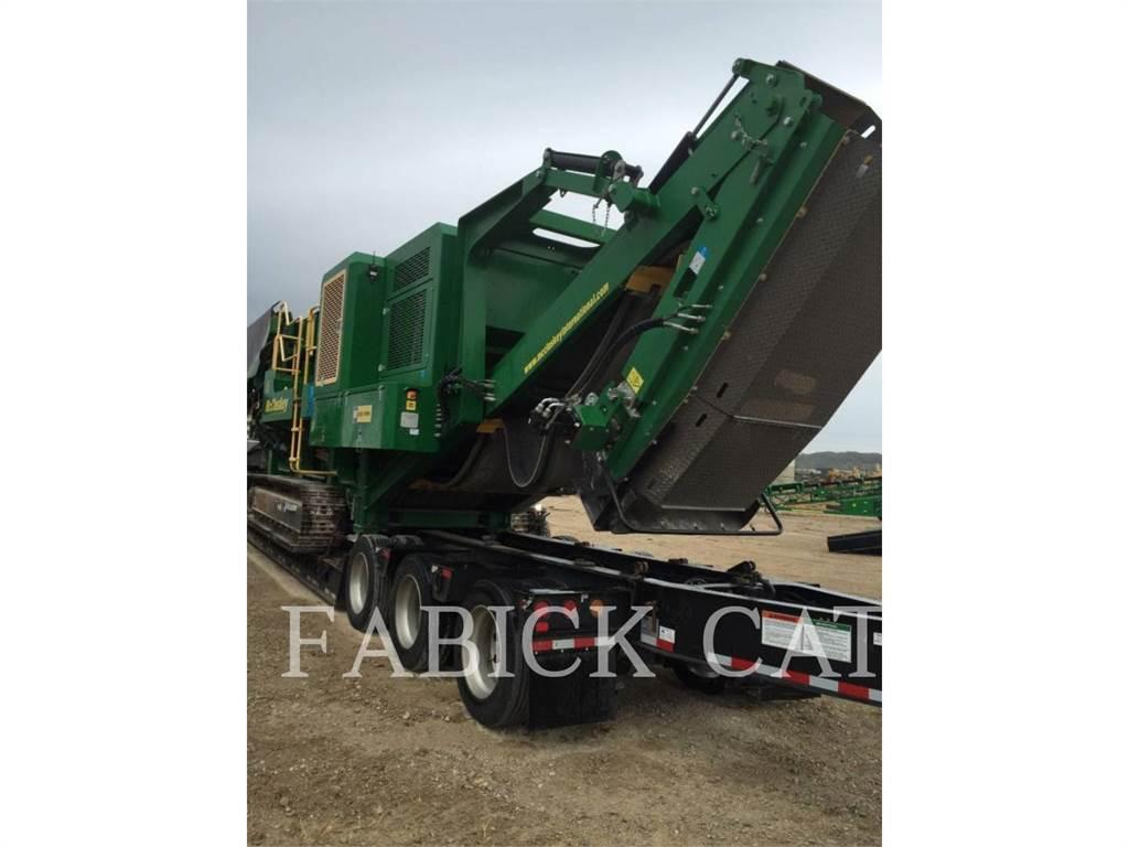 McCloskey I54, crushers, Construction
