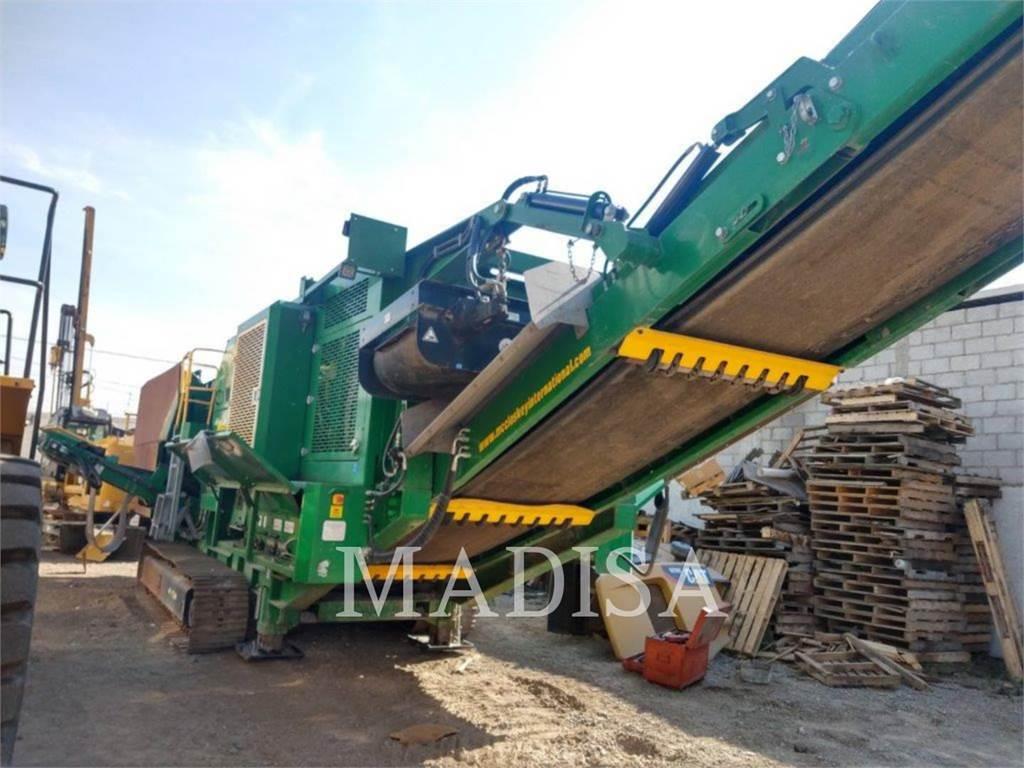 McCloskey (OBSOLETE) J50W-V2, crushers, Construction