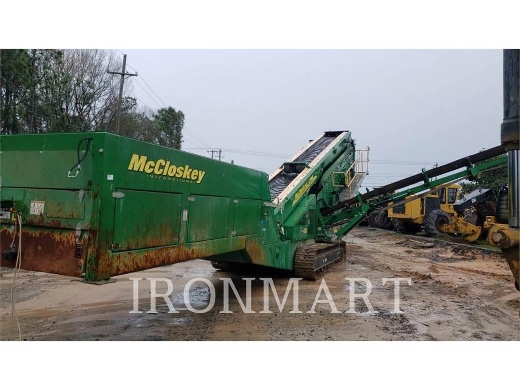 McCloskey S190, Crivos, Equipamentos Construção