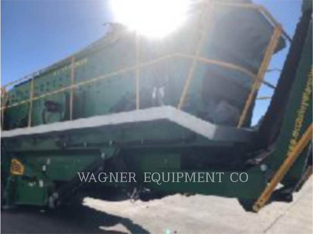 McCloskey S2503DT, crushers, Construction