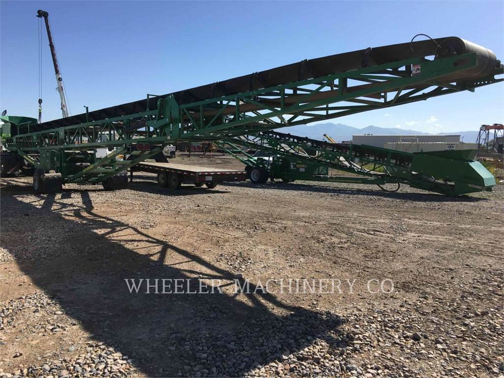 McCloskey STK 36X80, crusher, Construction