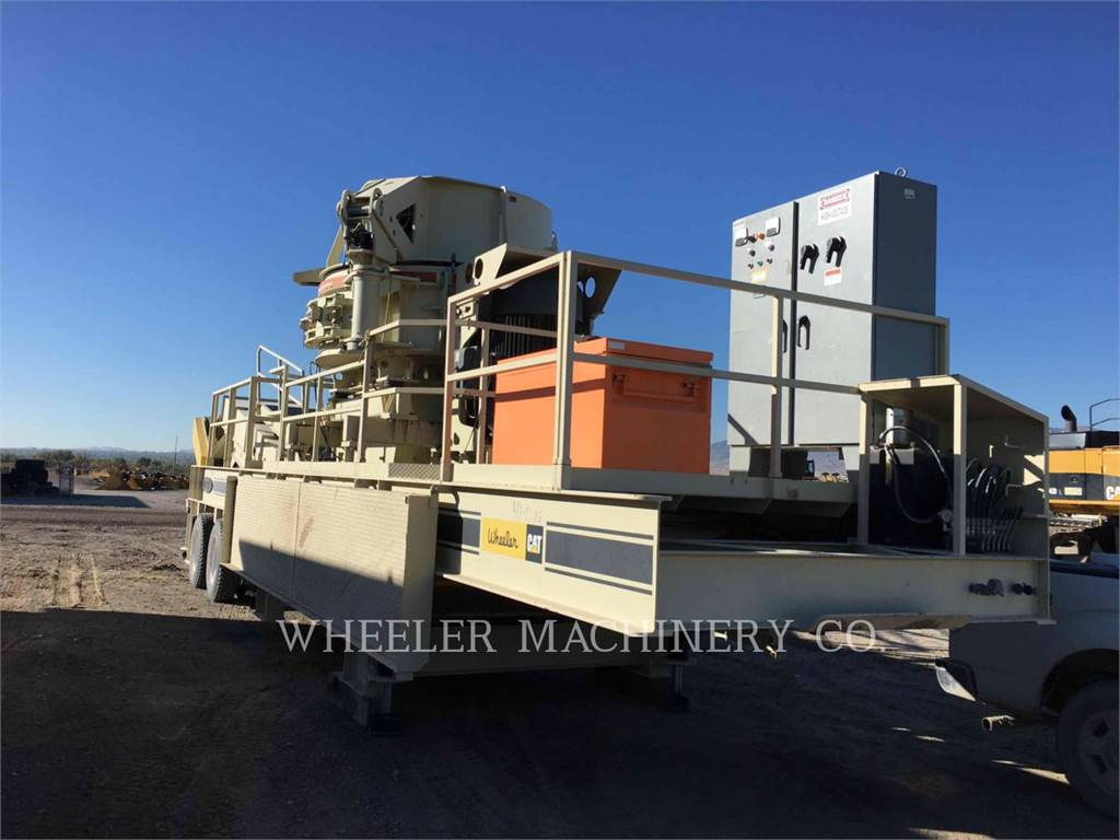 Metso B9100SE, crushers, Construction
