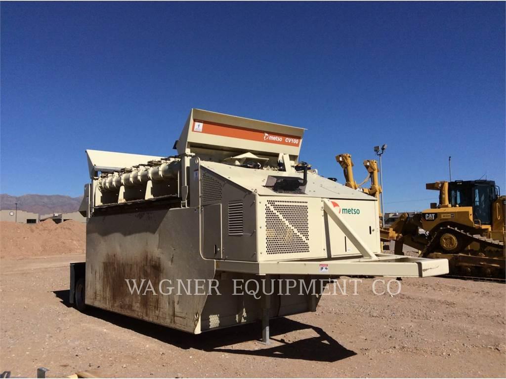 Metso CV100, crushers, Construction