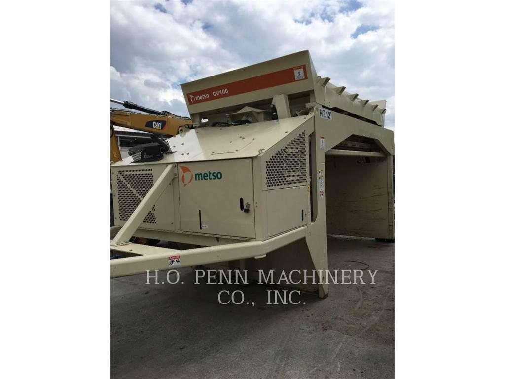 Metso CV100, Screeners, Construction