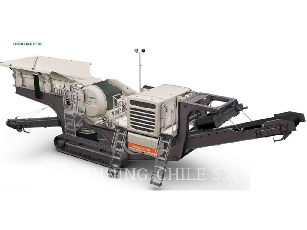 Metso LT106, herramienta de trabajo - trituradora, Construcción