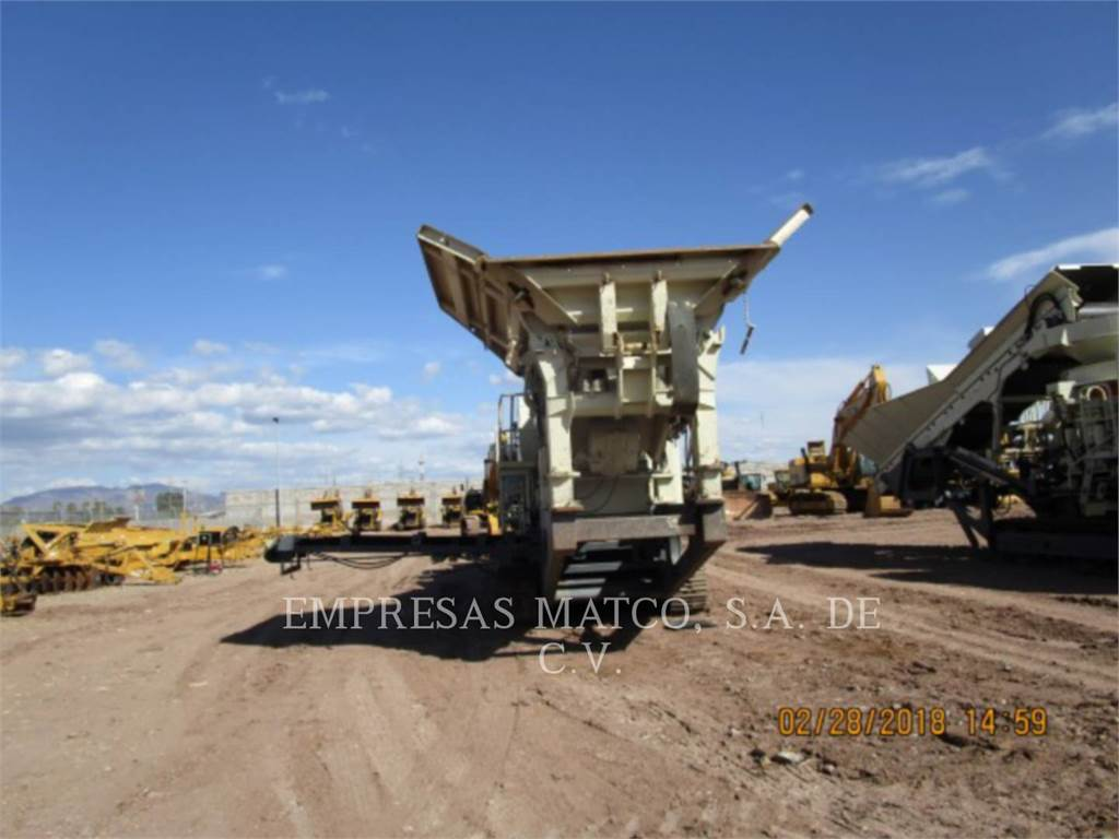 Metso LT106, crusher, Construction