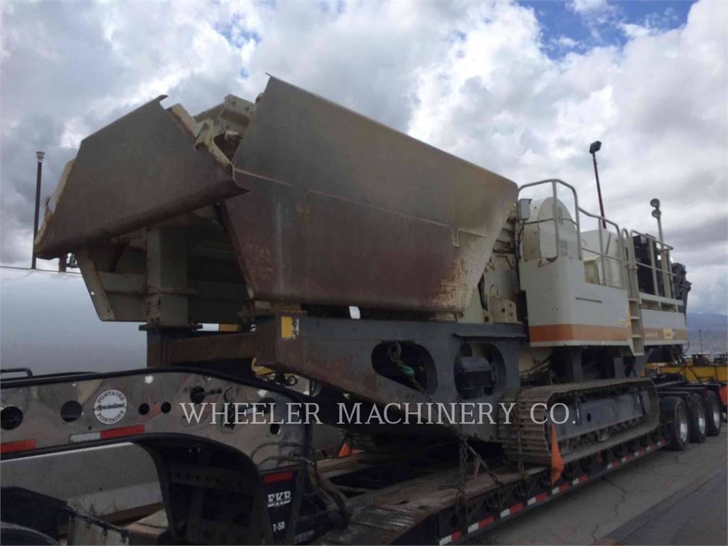 Metso LT106 JAW, crusher, Construction
