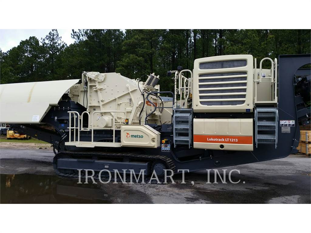 Metso LT1213, crusher, Construction