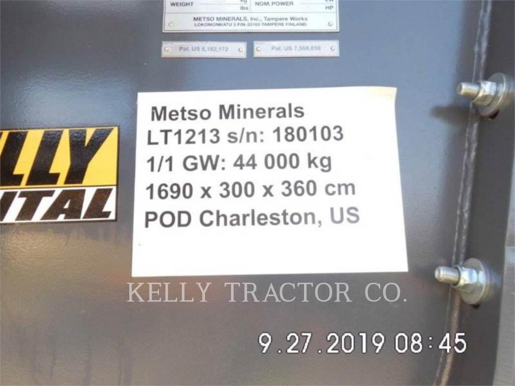 Metso LT1213, crusher, Construction