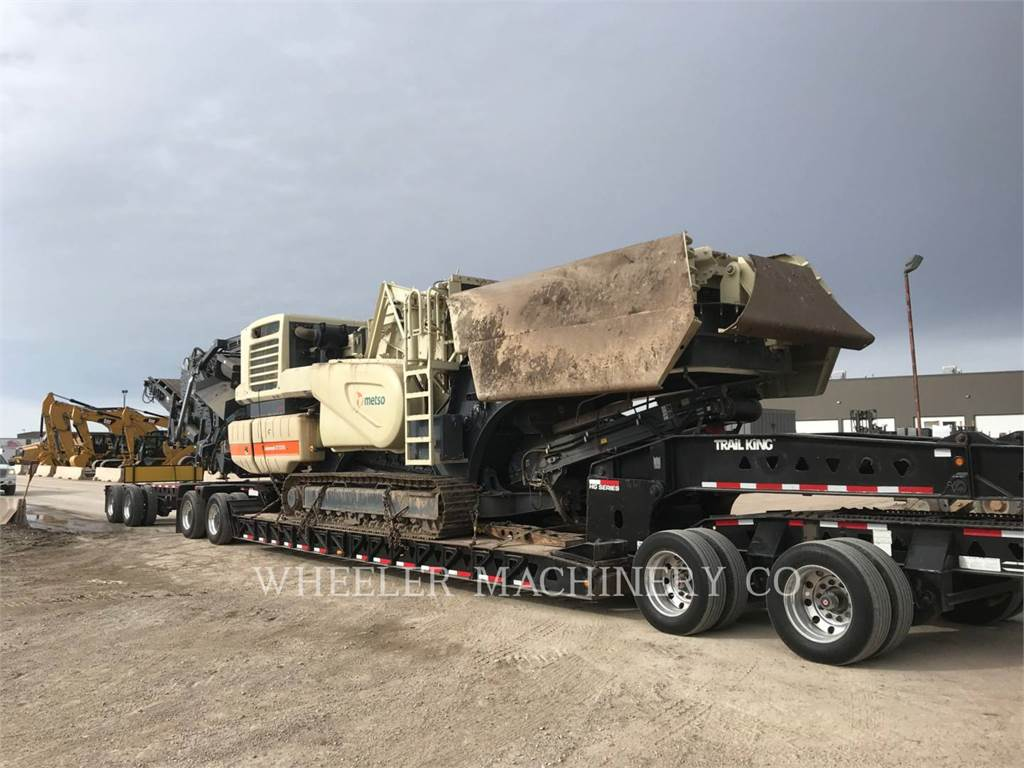 Metso LT1213S、圧砕機、建設