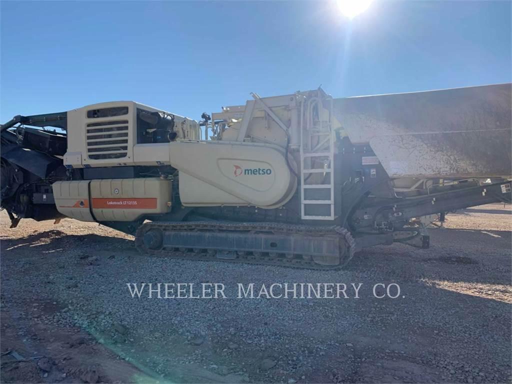 Metso LT1213S, crusher, Construction