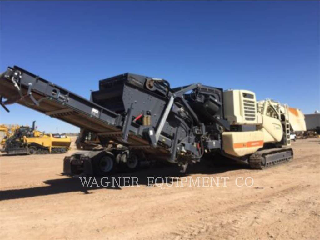 Metso LT1213S, crusher, Construction