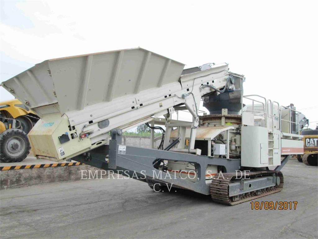 Metso LT200、圧砕機、建設