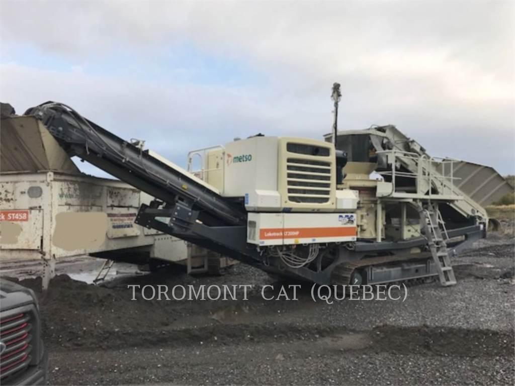 Metso LT200HP, crusher, Construction