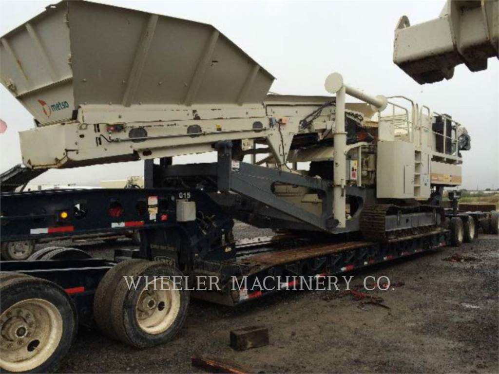 Metso LT200HPS, crusher, Construction