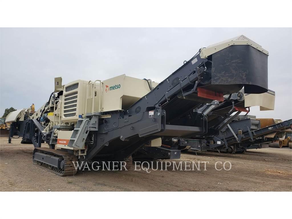 Metso LT4MX, crusher, Construction