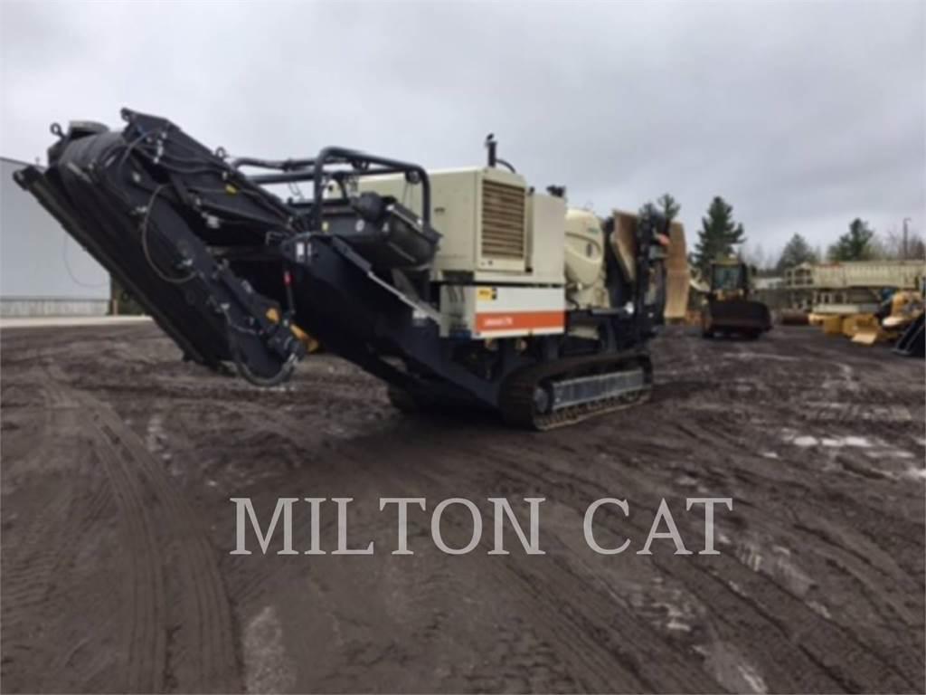 Metso LT96, crusher, Construction