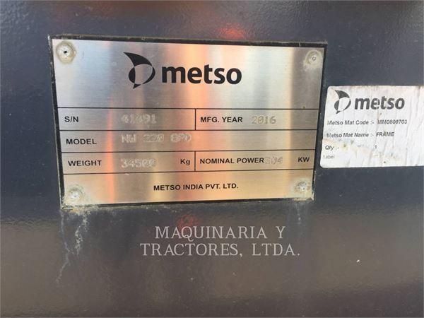 Metso MINERALS NWGP220D, herramienta de trabajo - trituradora, Construcción