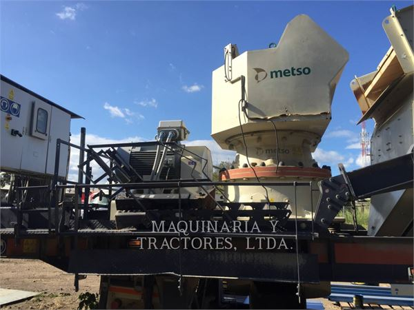 Metso MINERALS NWGP220D, crusher, Construction