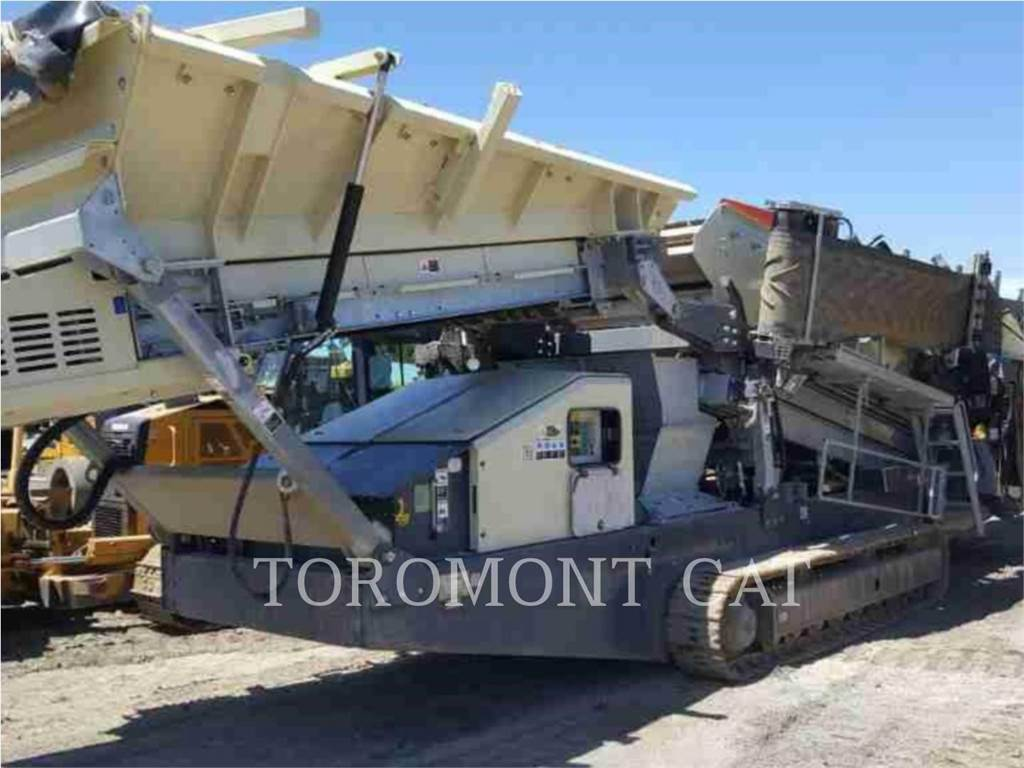 Metso MINERALS ST2.8, Mobile screeners, Construction