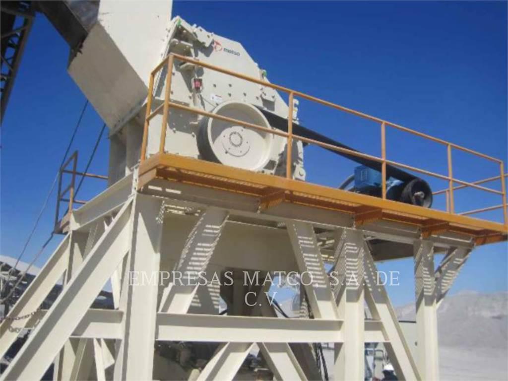 Metso NP1315, crushers, Construction
