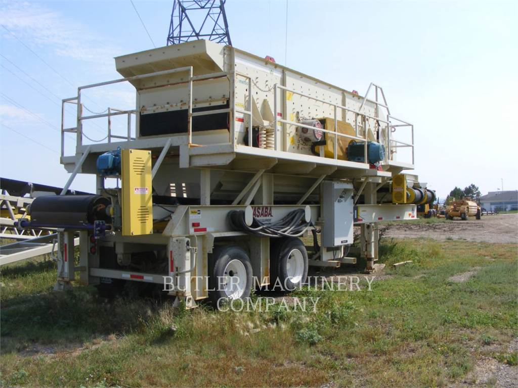 Metso NW303FS, Mobile screeners, Construction