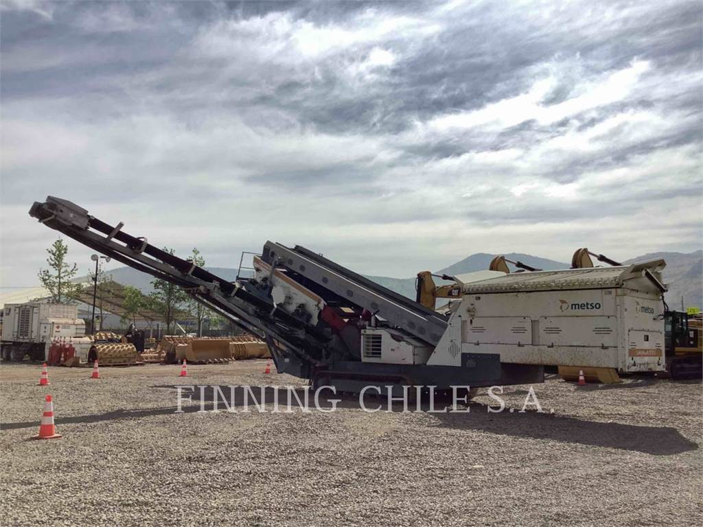 Metso ST 3.5, conveyors, Construction