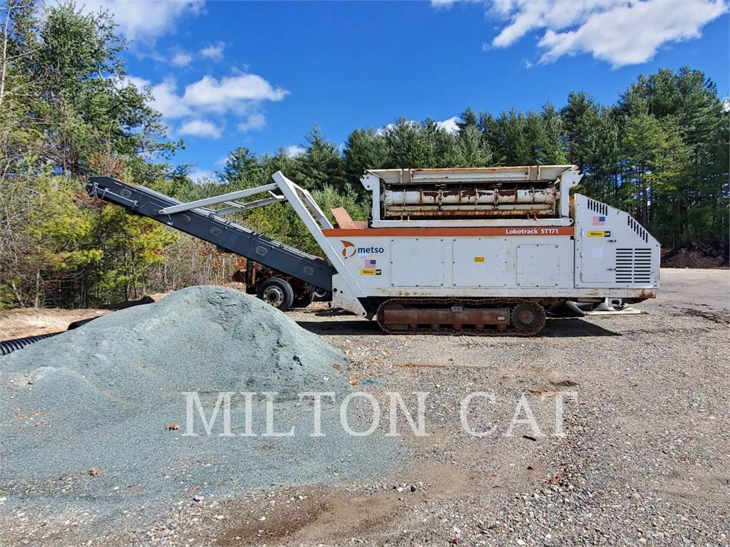 Metso ST171, Mobile screeners, Construction