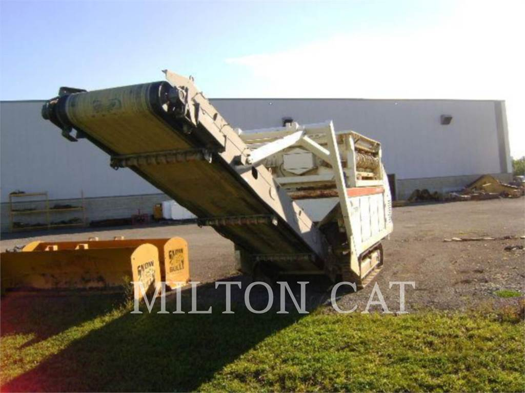 Metso ST171_MT, Mobile screeners, Construction