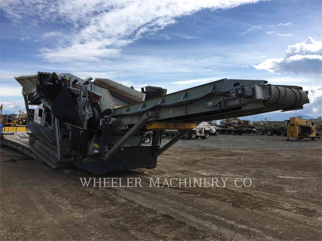 Metso ST2.4 SCRN, Mobile screeners, Construction